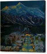 Ski Resort Canvas Print