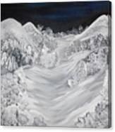 Ski Slope Canvas Print