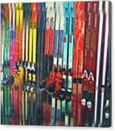 Ski Sun Valley Canvas Print