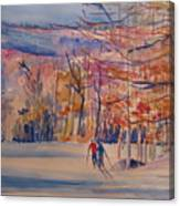 skiing in Anthony Wayne Canvas Print
