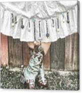 Skirts And Dangles Canvas Print