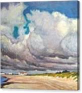 Skrea Beach Canvas Print