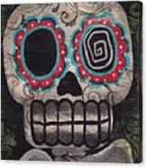 Skull Angel Canvas Print