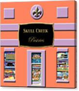 Skull Creek Pastries Canvas Print