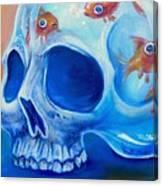 Skull Tank Canvas Print