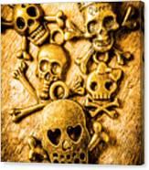 Skulls And Crossbones Canvas Print