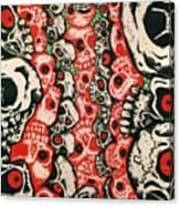 Skulls Infinate Canvas Print