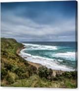 Sky Blue Coast Canvas Print