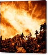 Sky Burst Canvas Print