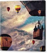 Sky Caravan Hot Air Balloons Canvas Print