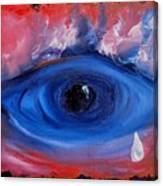 Sky Eye                                  71 Canvas Print