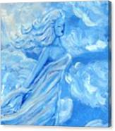 Sky Goddess Canvas Print