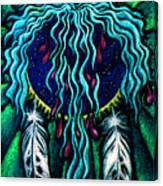 Sky Heart Canvas Print