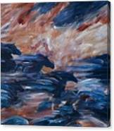 sky herd II Canvas Print