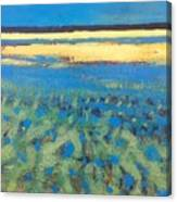 Sky In The Ripples Canvas Print
