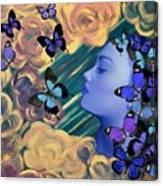 Sky Maiden Canvas Print