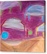 Sky Might Fall Canvas Print