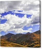 Sky On The Divide Canvas Print