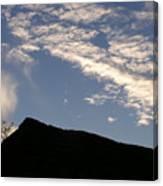 Sky Over Ft. Negley Canvas Print