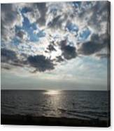 Sky Over Oval Beach Lake Michigan 1 Canvas Print