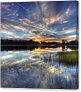 Sky Painting Canvas Print