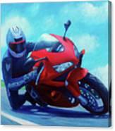 Sky Pilot - Honda Cbr600 Canvas Print