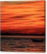 Sky Ripple Sunset Canvas Print