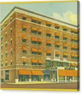 Skyland Hotel Canvas Print
