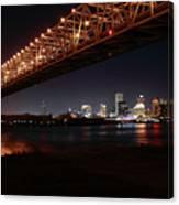 Skyline Bridge Canvas Print