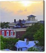 Skyline Charleston Sc Canvas Print