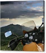 Skyline Drive Above Davis County Canvas Print