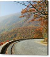 Skyline Drive I Canvas Print