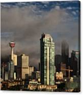Skyline Fog Canvas Print