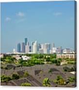 Skyline Houston Canvas Print