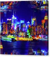 Skyline Island Canvas Print