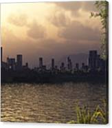 Skyline Lake Canvas Print
