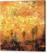 Skyline Of Marrakech Canvas Print