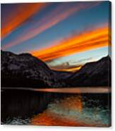 Skys Of Color Canvas Print