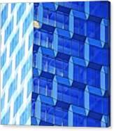Skyscraper Blue Canvas Print