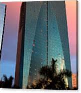 Skyscraper In Miami Canvas Print