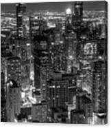 Skyscrapers Of Chicago Canvas Print