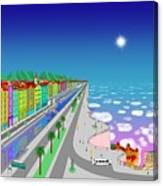 Skyside Avenue Canvas Print