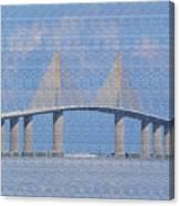 Skyway Bridge Canvas Print