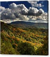 Skyway Clouds Canvas Print