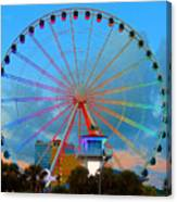 Skywheel Canvas Print