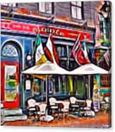 Slainte Irish Pub And Restaurant Canvas Print