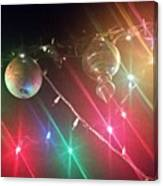 Slap Happy Christmas Lites Canvas Print