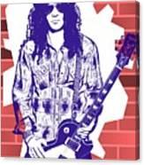 Slash Graffiti Tribute Canvas Print