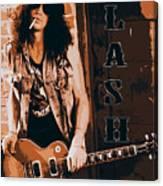 Slash, Guns'n'roses Canvas Print