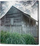 Slave Cottage Canvas Print